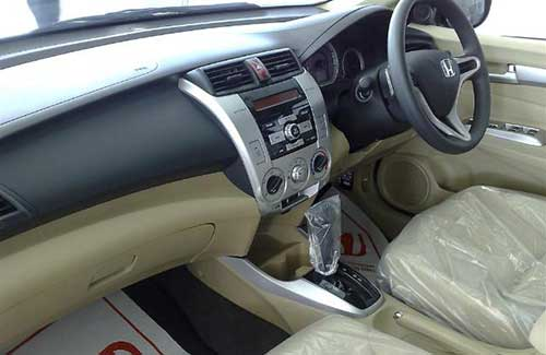 Trunk view of Nissan Almera